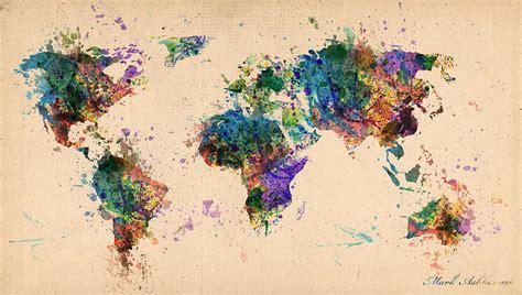 the art of world map of world art world map weltkarte peta dunia mapa del mundo earth map