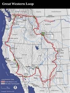 loop trail map great western loop