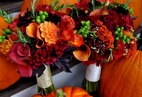 fall wedding flowers pictures fall flowers for weddings blue auroravine