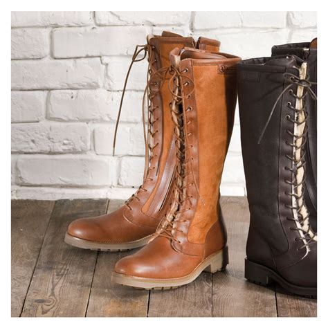 womens brown leather boots coltford boots
