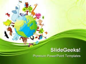 animals powerpoint template animal planet geographical powerpoint templates and