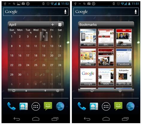 android home screen widgets 10 great useful free android widgets