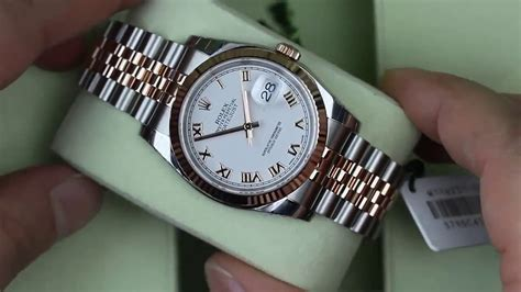 Rolex Max Combi Gold by 116231 Rolex Datejust Steel Gold Fluted Bezel
