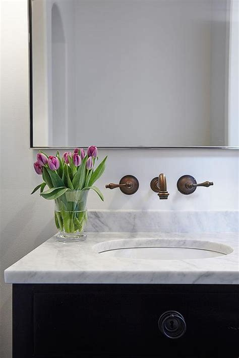 white bathroom vanity with black top black bathroom vanity white marble top design ideas