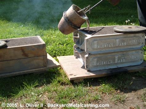 backyard aluminum foundry a homemade waste oil burner