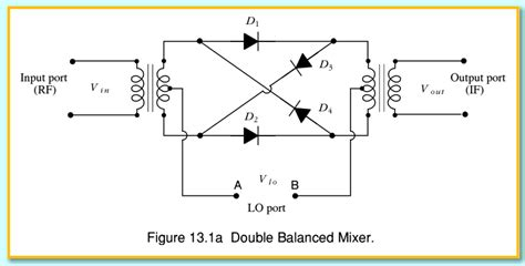 balanced diode mixer schematic esptr 2008l course page