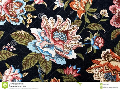 Multi Colored Carpet by Pattern Of An Ornate Colorful Floral Tapestry Royalty Free