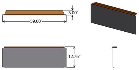 Standing Desk Measurements by Standing Desk Modesty Panel 1 Caretta Workspace