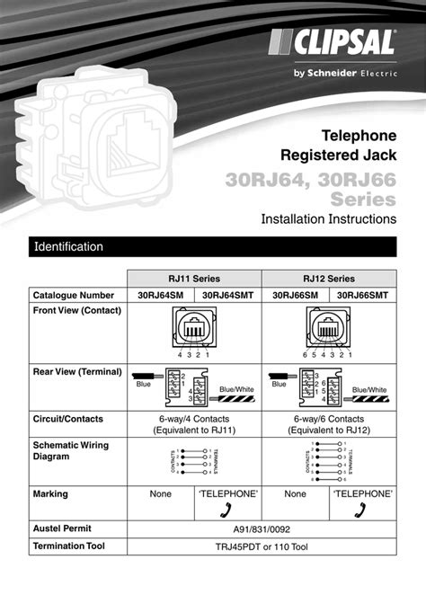 rj12 telephone wiring diagram australia wiring diagram