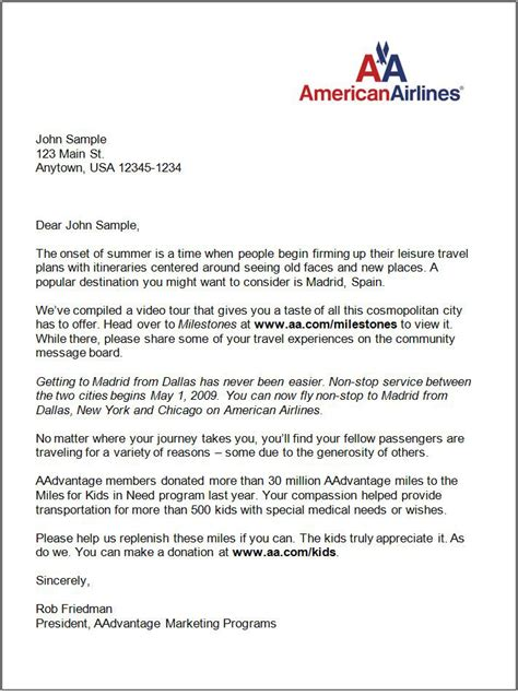 Airline Ticket Cover Letter by How To Write A Letter American Airlines Cover Letter Templates