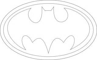 batman symbol printable template clipartsgram com