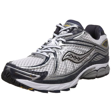 mens saucony running shoes saucony mens progrid hurricane 12 running shoe in white