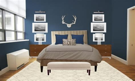 best colors for a small bedroom bedroom blue gray paint