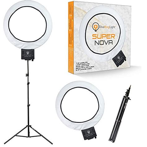 ring light supernova ring light 18 quot dimmable w 6 stand
