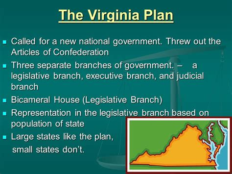 two house legislature astounding the virginia plan called for a two house