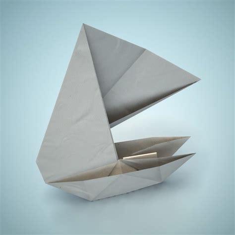 3d Origami Boat - origami boat 3d model obj fbx dae lxo lxl cgtrader