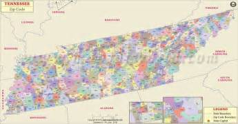 Tennessee Zip Code Map by Tennessee Zip Codes Map List Counties And Cities