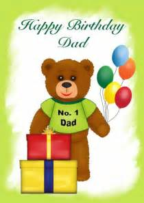 printable birthday cards for dad from kids