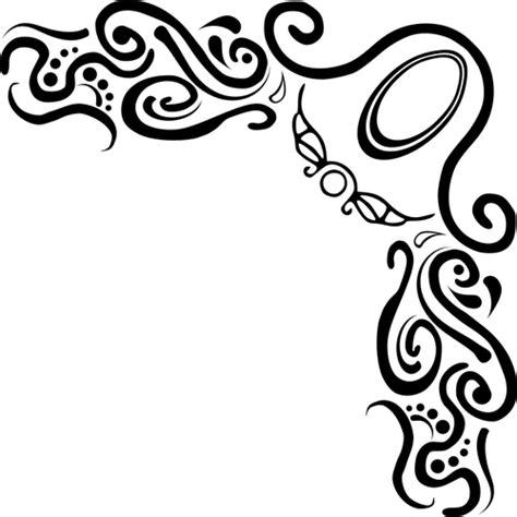 clip cornici clipart vettoriali di decorazione cornice angolo