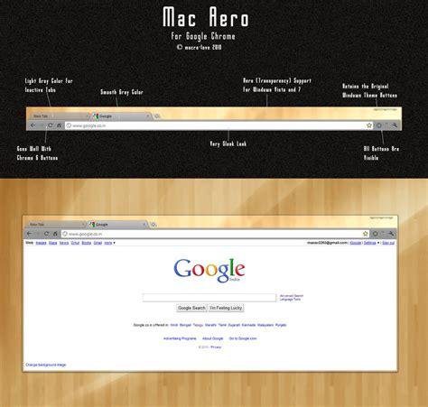 chrome themes for mac mac aero for google chrome by macro love on deviantart
