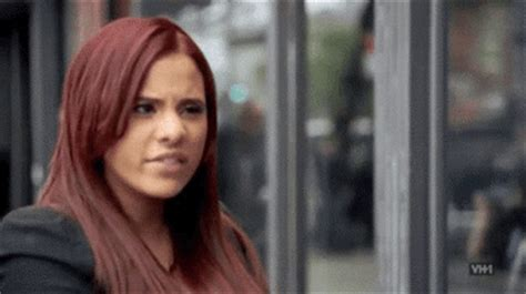 what color red does cyn santana have for hair color love and hip hop relationship gif find share on giphy