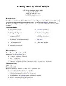 how to make a resume for an internship exles of resumes resume layout word sle in format
