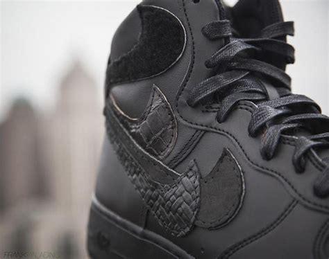 Nike Background Check Nike Air 1 Misplaced Checks Black Geiger Sneakerfiles