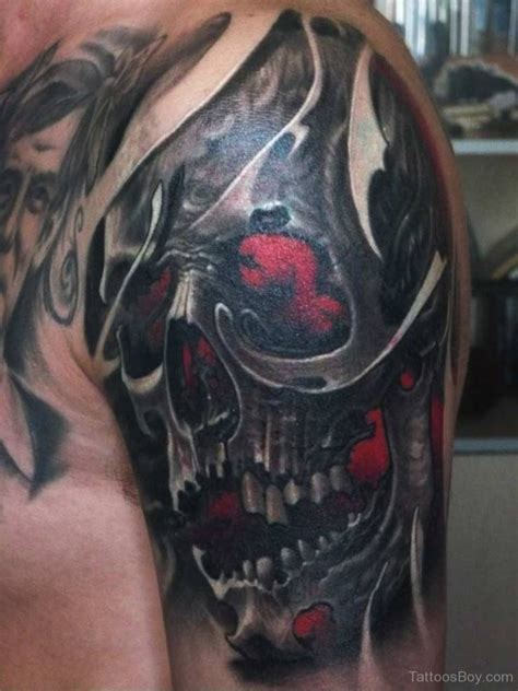black skull tattoo designs skull tattoos designs pictures page 2