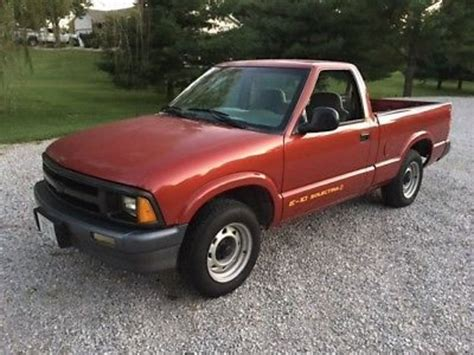 how to sell used cars 1995 chevrolet s10 electronic valve timing 1995 chevrolet s 10 pickup for sale 21 used cars from 1 031