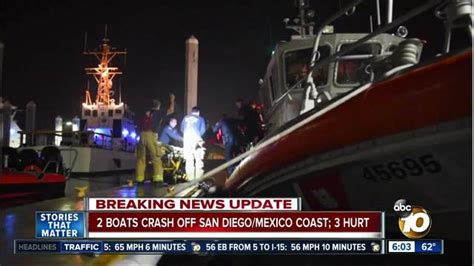 san diego fishing boat hit by yacht 17 rescued 3 hurt in mega yacht fishing boat crash off