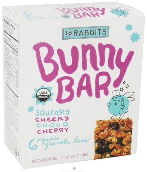 Suplemen Fruit 18 Jr 18 rabbits jr organic granola bars