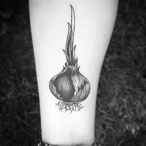 onion tattoo 60 ideas for layered vegetable designs