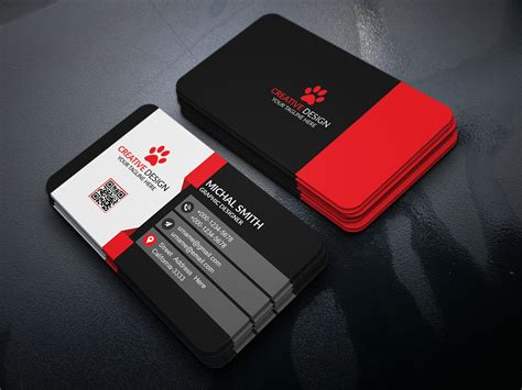 free design for business cards to download 40 unique free business card psd mockups and templates