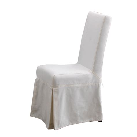 dining armchair slipcovers padmas plantation pacific beach dining chair slipcover pcb12s sbw