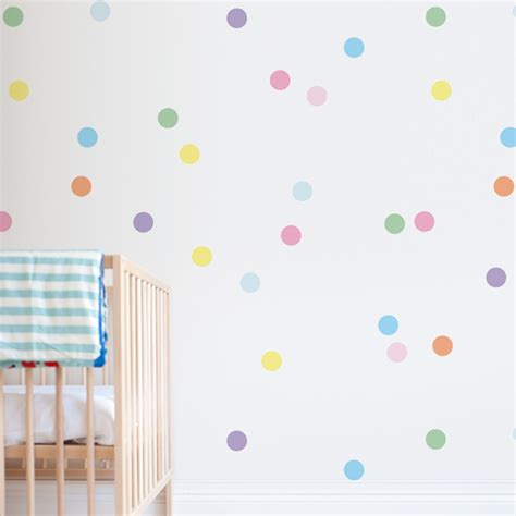 dots wall stickers confetti wall sticker dots decals for nursery 41 orchard