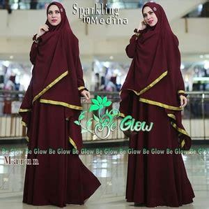 Baju Muslimah Yara Syari Maroon Baju Gamis Terbaru 2017 setelan baju gamis syari busui jilbab bergo modern model terbaru