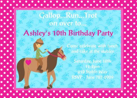 free printable horse riding party invitations birthday birthday invitation free printable horse orderecigsjuice