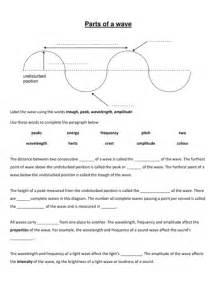 properties of waves worksheet tecnologialinstante