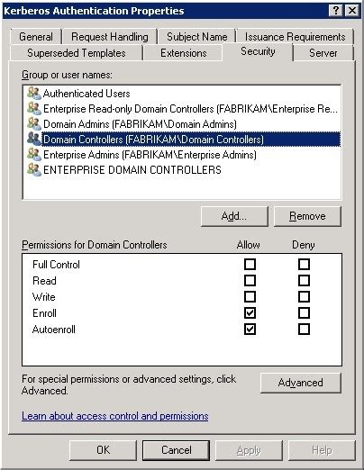 domain controller certificate template open a socket 187 archive 187 replacing legacy domain