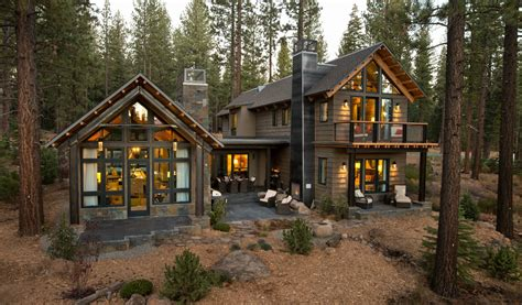 Modern Mountain Homes