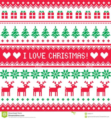 christmas jumper pattern vector free i love christmas pattern scandynavian sweater style