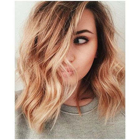 Trendy Haircuts Ideas Strawberry Bronde Balayage Bob By Kellymassiashair 17 Medium Strawberry Hair Color Hairstyles 2017