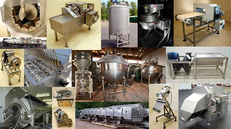 used food processing and packaging equipment alard
