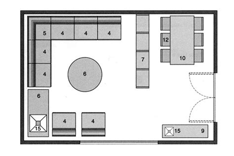plan salon cuisine sejour salle manger plan salon gratuit 10 plans pour am nager le salon plan
