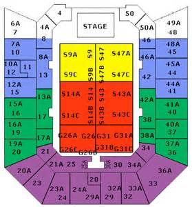 Entertainment Centre Floor Plan Brisbane Entertainment Centre Seating Chart Brisbane
