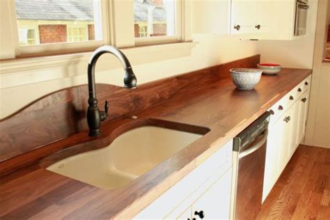 Wood Countertop by 58 Cozy Wooden Kitchen Countertop Designs Digsdigs