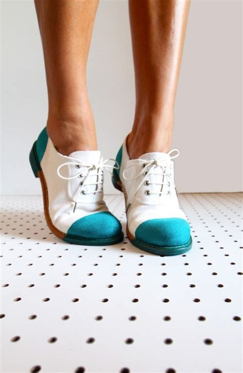 teal oxford shoes blue and white oxfords tiptoe
