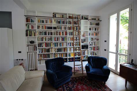 libreria con scala gallery falegnameria fallacara