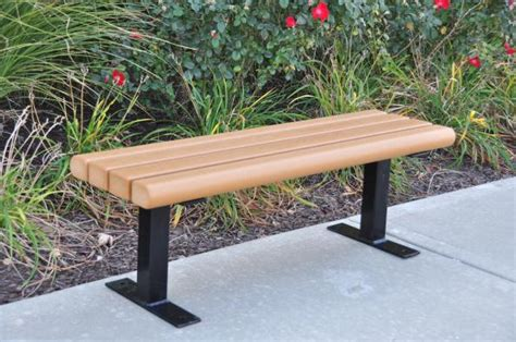 recycled park bench 301 moved permanently