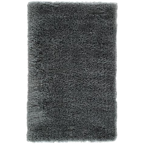 10 5 Ft X 8 Ft Rug - ottomanson contemporary solid grey 8 ft x 10 ft shag